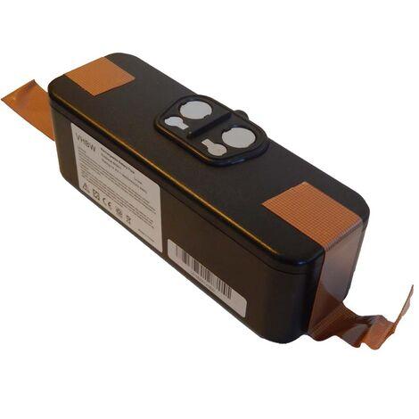 Batterie Li-Ion vhbw 3000mAh (14.4V) compatible avec iRobot Roomba 532, 534, 535, 540, 550. Remplace: 11702, GD-Roomba-500, VAC-500NMH-33