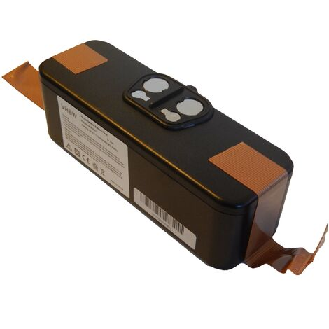 Batterie Li-Ion vhbw 3000mAh (14.4V) compatible avec iRobot Roomba R3 500, APS 500 robot aspirateur. Remplace: 11702, GD-Roomba-500, VAC-500NMH-33.