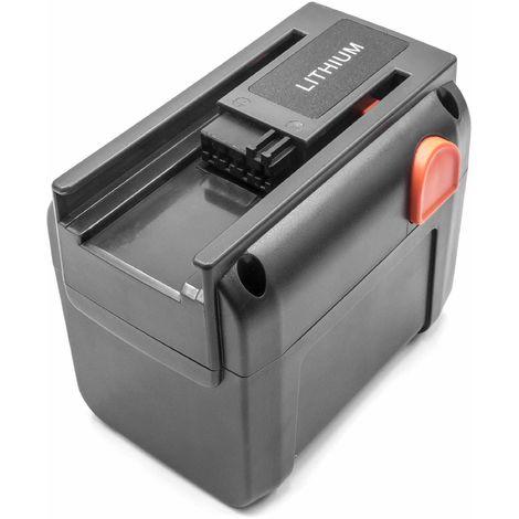 Batterie Li-Ion vhbw 3000mAh (18V) pour outils Gardena Turbotrimmer AccuCut 450 Li (8841) . Remplace: 8835-U, 8835-20, 8839, 8839-20.