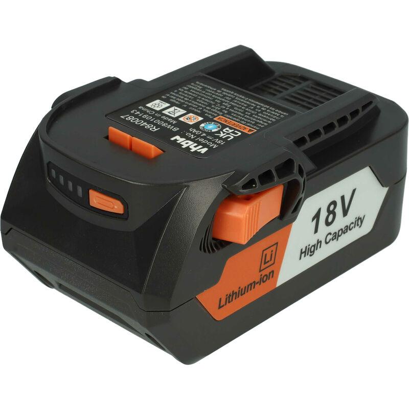 vhbw Batterie compatible avec AEG BS 18G, BSB 18, BSB 18 C, BSB 18 G, BSB 18 LI, BSB 18 STX, BSS 18C outil électrique (4000mAh Li-Ion 18V)