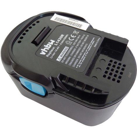 Batterie Li-Ion vhbw 4000mAh pour outils électroniques Würth SD-LI 14.4V Lithium-Ion. Remplace: L1430R, L1414, L1415,