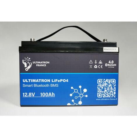 Batterie Lithium 12V-100Ah LiFePO4 Fer-Phosphate-Ultimatron