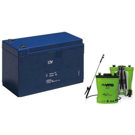 Batterie LITHIUM 12V - 6A pour Pulvérisateur VITO 16L