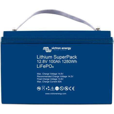 Batterie Lithium 200Ah 12.8V SuperPack - Victron Energy