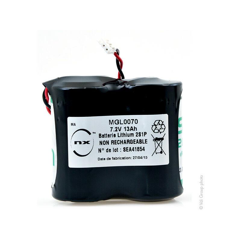 Nx ™ - NX - Batterie lithium 2x D 2S1P ST1 BL13 7.2V 13Ah JST