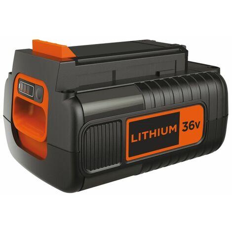 Batterie lithium 36V 2Ah Black + Decker BL20362XJ Avec effet mémoire et faible autodécharge
