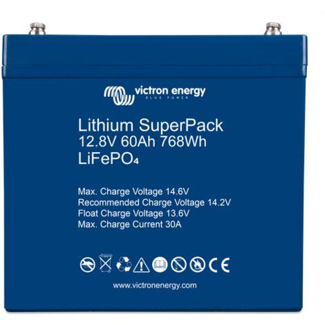 Batterie Lithium 60Ah 12.8V SuperPack - Victron Energy