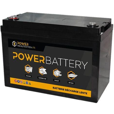 Batterie LITHIUM Fer Phosphate (LiFePO4) 12V 100ah Power Battery
