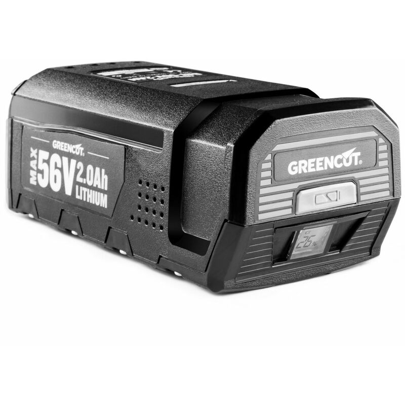 Batterie au lithium 2.0Ah pour outils de jardin GREENCUT 56V MAX