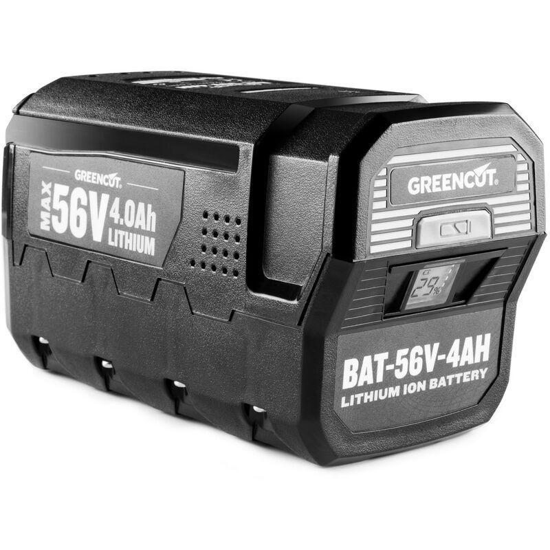 Batterie au lithium BT564L d'une capacité de 4,0Ah et d'une tension de 56V - Greencut