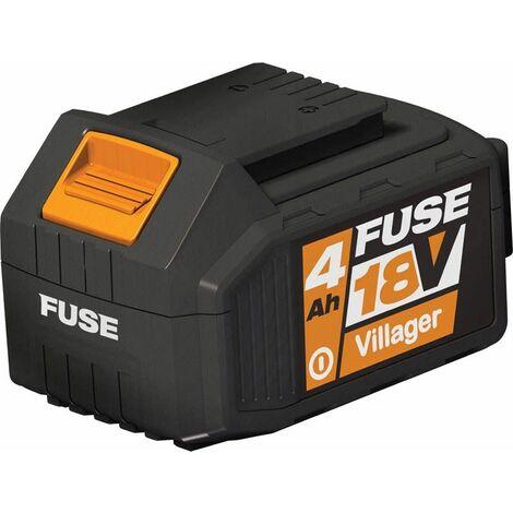Batterie Lithium ion 18 volts 4Ah Villager Fuse
