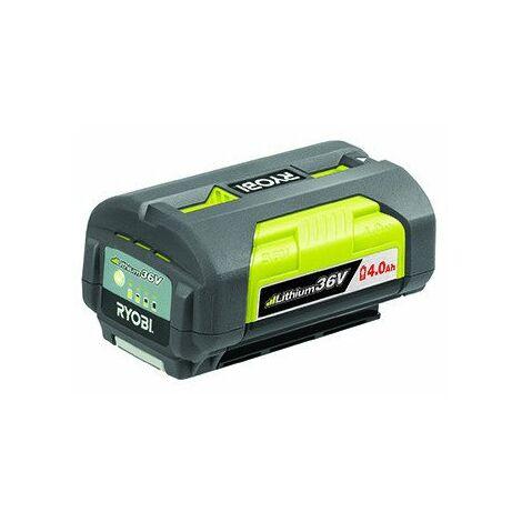 """main image of """"Batterie lithium/ion 36V 4,0Ah pour machines RYOBI. Remplace origine 5133002331, BPL3640D."""""""