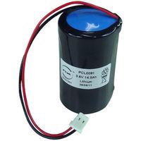 Batterie Lithium Visonic Außensirene 3.6V 14.5Ah Molex