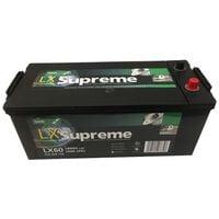 Batterie Marine Camping-cars Lucas B15G / B LX60 12V 180Ah / 1000A