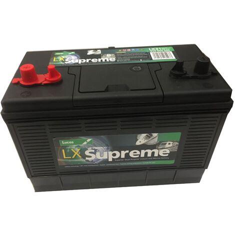 Batterie Marine Camping-cars Lucas GR31 LX31 12V 105Ah / 800A