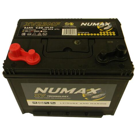 Batterie Marine Camping-cars Numax XV23MF 12V 82Ah / 450A