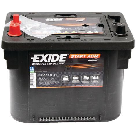 Batterie Maxxima EM 12V, 50Ah, 1000A