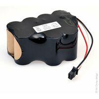 Batterie medical 10x SC 10S1P IVAC 12V 1.9Ah FC