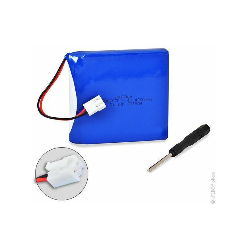 Schiller Odam Bruker - Batterie médicale Schiller Odam Bruker 7.4V 4.2Ah