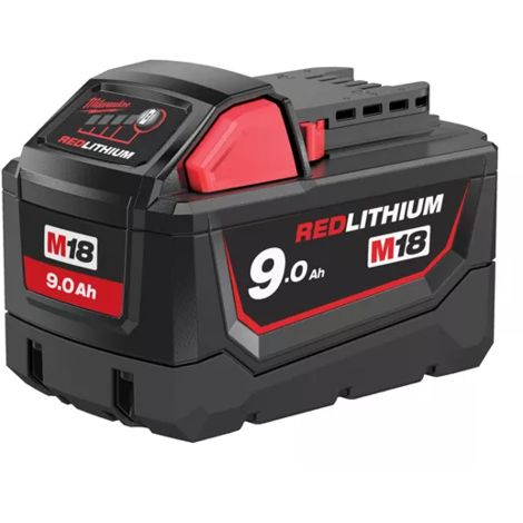 Batterie MILWAUKEE 18V 9.0 Ah M18-4932451245 - -
