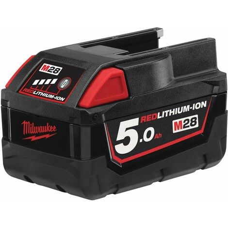 Batterie MILWAUKEE 28V 5.0 Ah - M2 BX - 4932430484