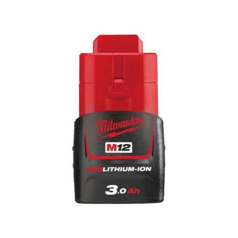 Batterie Milwaukee M12 B3 RedLithium Li-Ion 12V 3.0Ah 4932451388