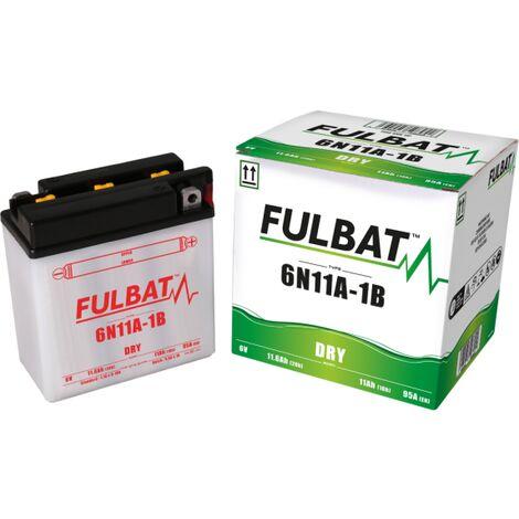 Batterie moto 6B11A-1B 6V / 11Ah