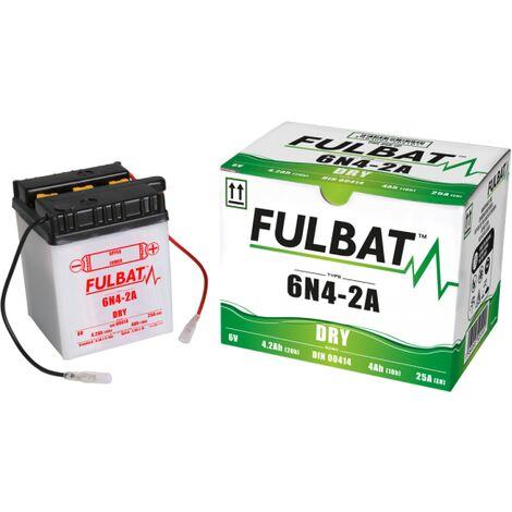 Batterie moto 6N4-2A 6V / 4Ah