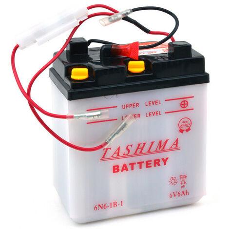 Batterie moto 6N6-1B-1 6V 6Ah