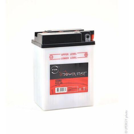 Batterie moto B38-6A 6V 13Ah