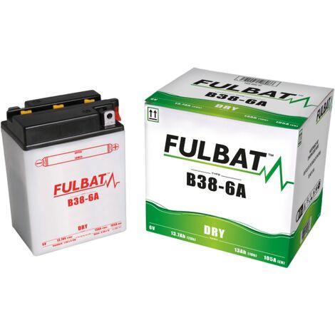 Batterie moto B38-6A 6V / 13Ah