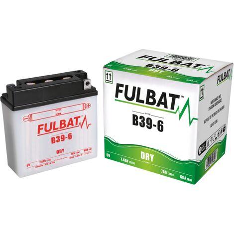 Batterie moto B39.6 6V / 7ah