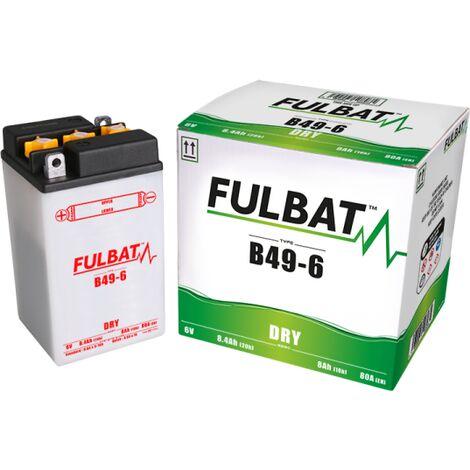 Batterie moto B49-6 6V / 8Ah