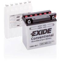 Batterie moto Exide 12N9-4B-1 12v 9ah 90A