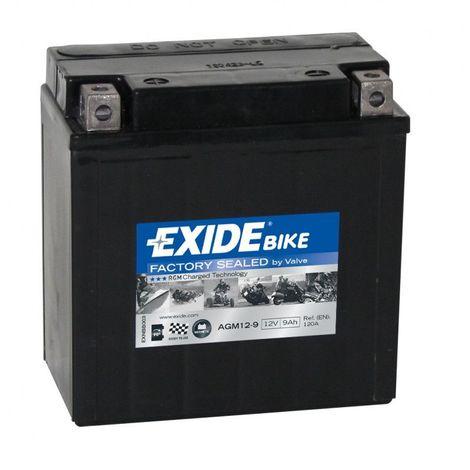 Batterie moto Exide AGM12-9 12v 9ah 120A