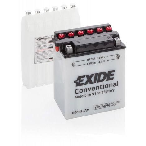 Batterie moto Exide EB14L-A2 YB14L-A2 12v 14ah 180A