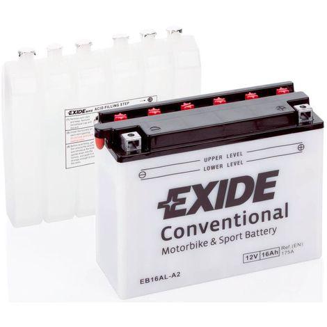 Batterie moto Exide EB16AL-A2 YB16AL-A2 12v 16ah 220A