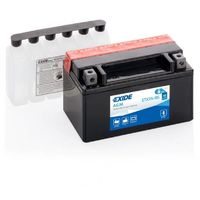 Batterie moto Exide ETX7A-BS YTX7A-BS 12v 6ah 90A