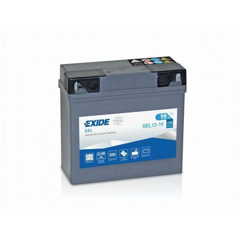 Batterie moto Exide GEL12-19 51913 12v 19ah 170A