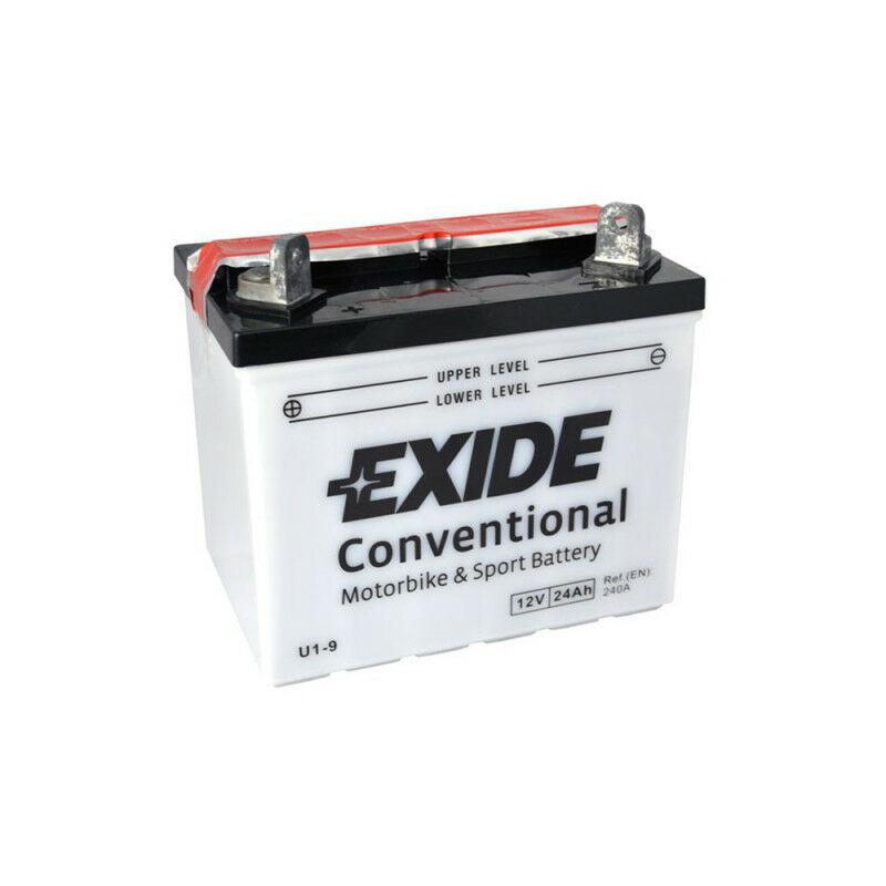 Batterie moto Exide U1-9 12v 24ah 300A