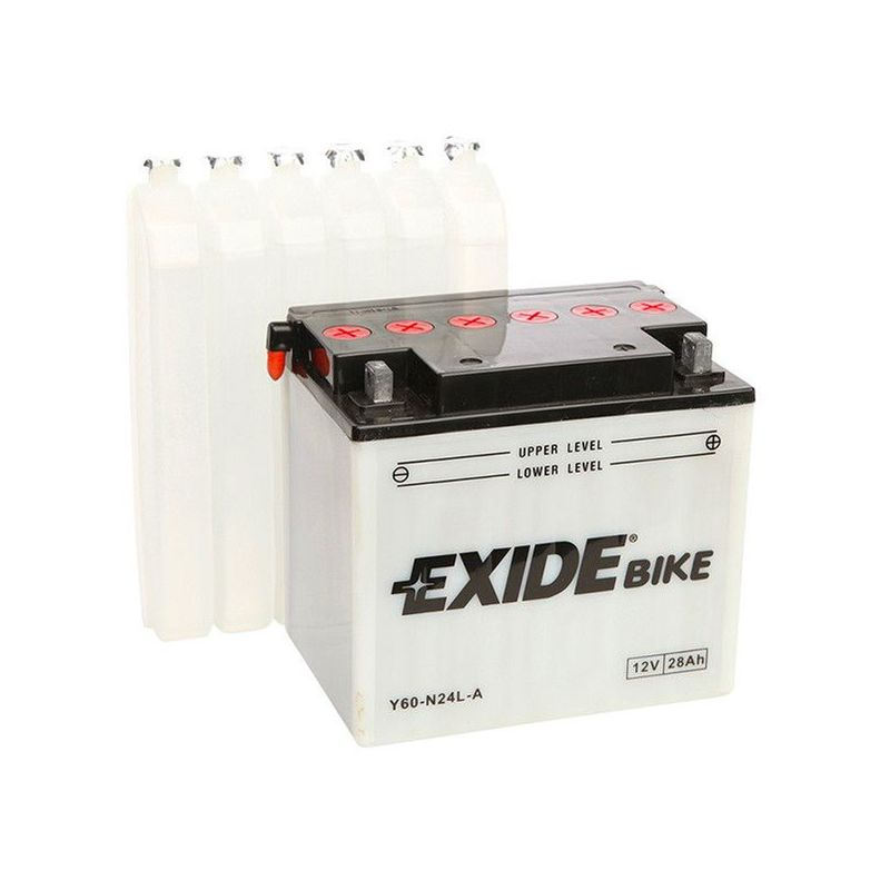 Batterie moto Exide E60-N24L-A Y60-N24L-A 12v 28ah 300A
