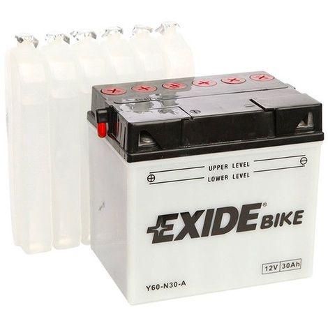 Batterie moto Exide Y60-N30-A 12v 30ah 300A