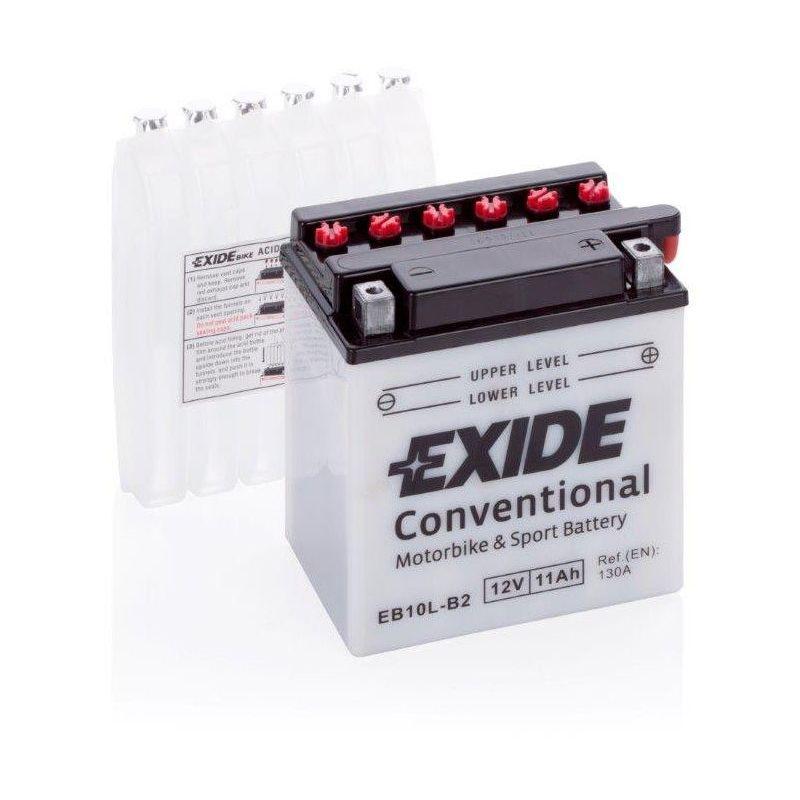 Batterie moto Exide EB10L-B2 YB10L-B2 12v 11ah 160A
