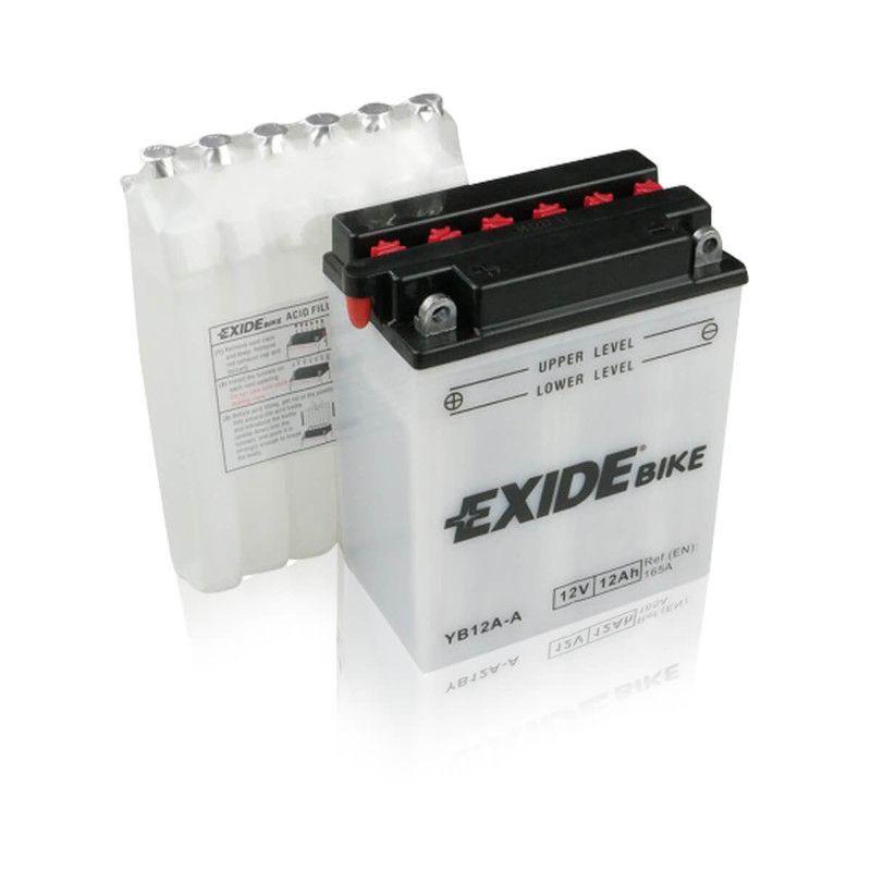 Batterie moto EB12A-A YB12A-A 12v 12ah 150A - Exide