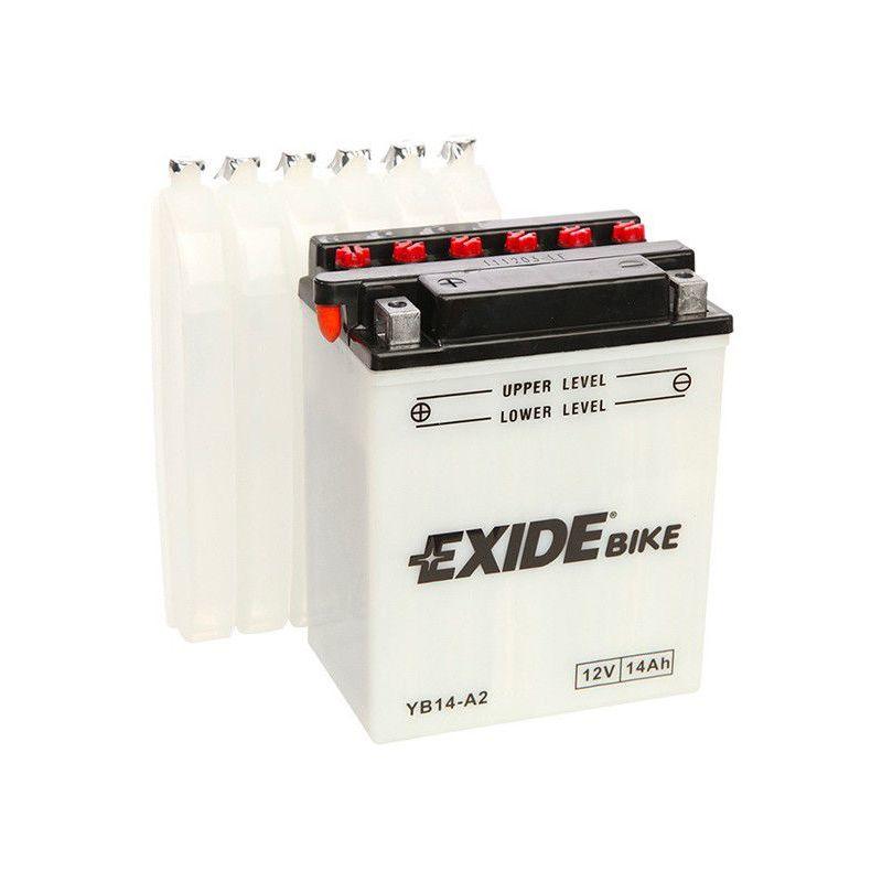 Batterie moto Exide EB14-A2 YB14-A2 12v 14ah 145A