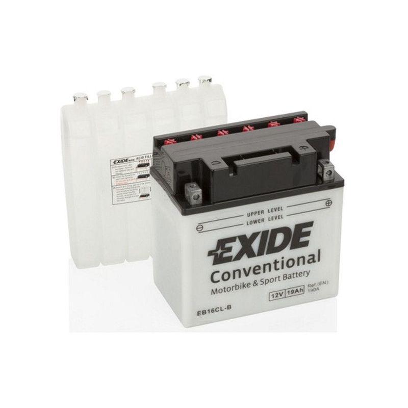 Batterie moto Exide EB16CL-B YB16CL-B 12v 19ah 190A