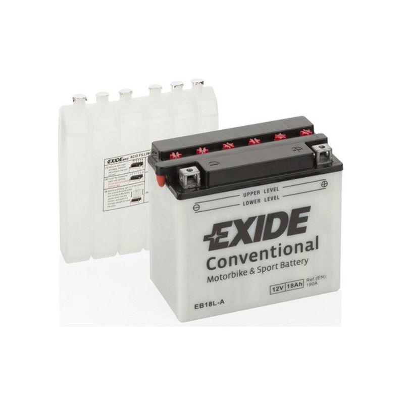 Batterie moto Exide EB18L-A YB18L-A 12v 18ah 240A