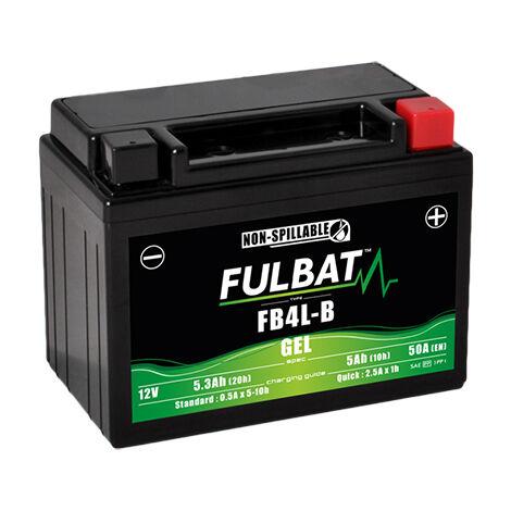 Batterie moto Gel YB4L-B / FB4L-B 12V 5Ah