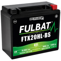 Batterie moto Gel YTX20HL-BS / FTX20HL-BS 12V 18.9Ah