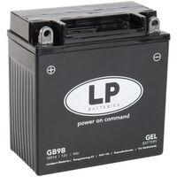 Batterie moto Landport LP GEL GB9B YB9-B 12v 9ah 100A